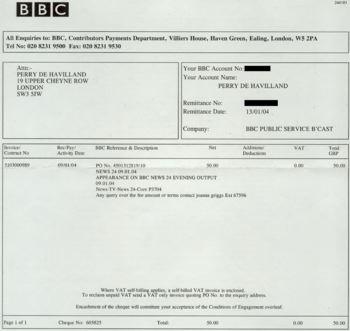 BBC money for me!