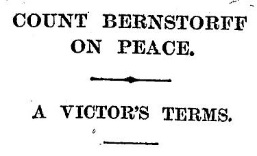 The Times 4 September 1915