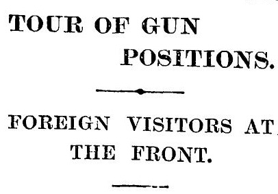 The Times 8 November 1915 p7