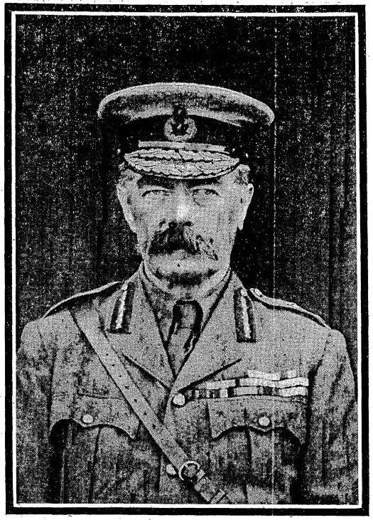 The Times 7 June 1916 p14. Click for the full obituary. Although The Times had started printing photographs before the war they were a rarity and became more so as the war went on. The fact that Kitchener gets a photo at all let alone such a big one says something about the esteem in which he was held. Notice the squint removed from the famous recruiting poster.