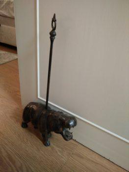 hippo-doorstop