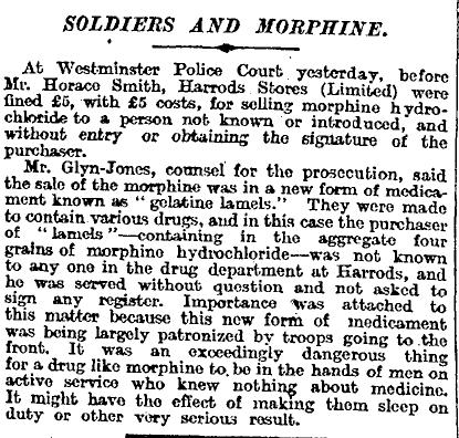 The Times 5 February 1916 p3