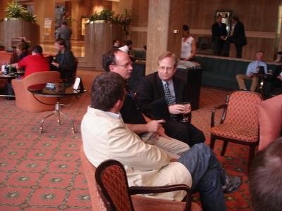 Glenn Reynolds, Rand Simberg and Alan Boyle
