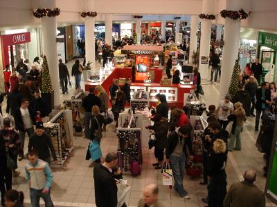 Castlecourt mall.