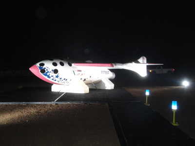 SS1 Replica at night