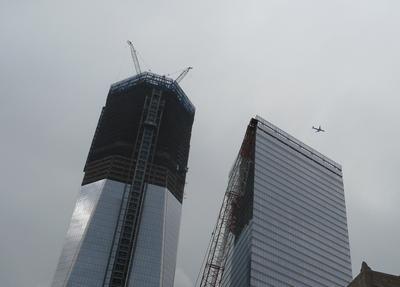 Jet over WTC