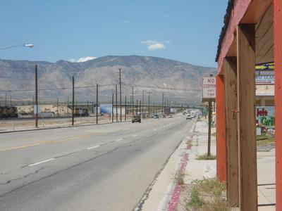 Mojave main street
