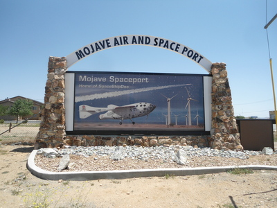 Mojave Spaceport sign