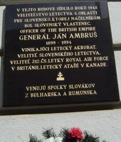 A Slovak Patriot remembered