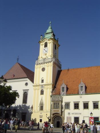 The Main Square and Old Town Hall