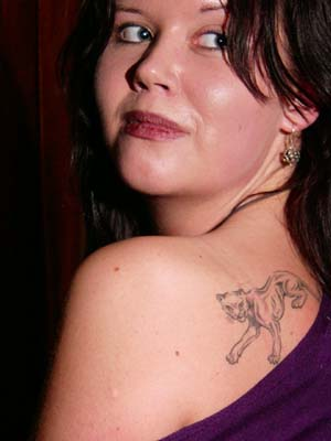 libertarian friend Kristine Lowe has a personal interest in tattoos,